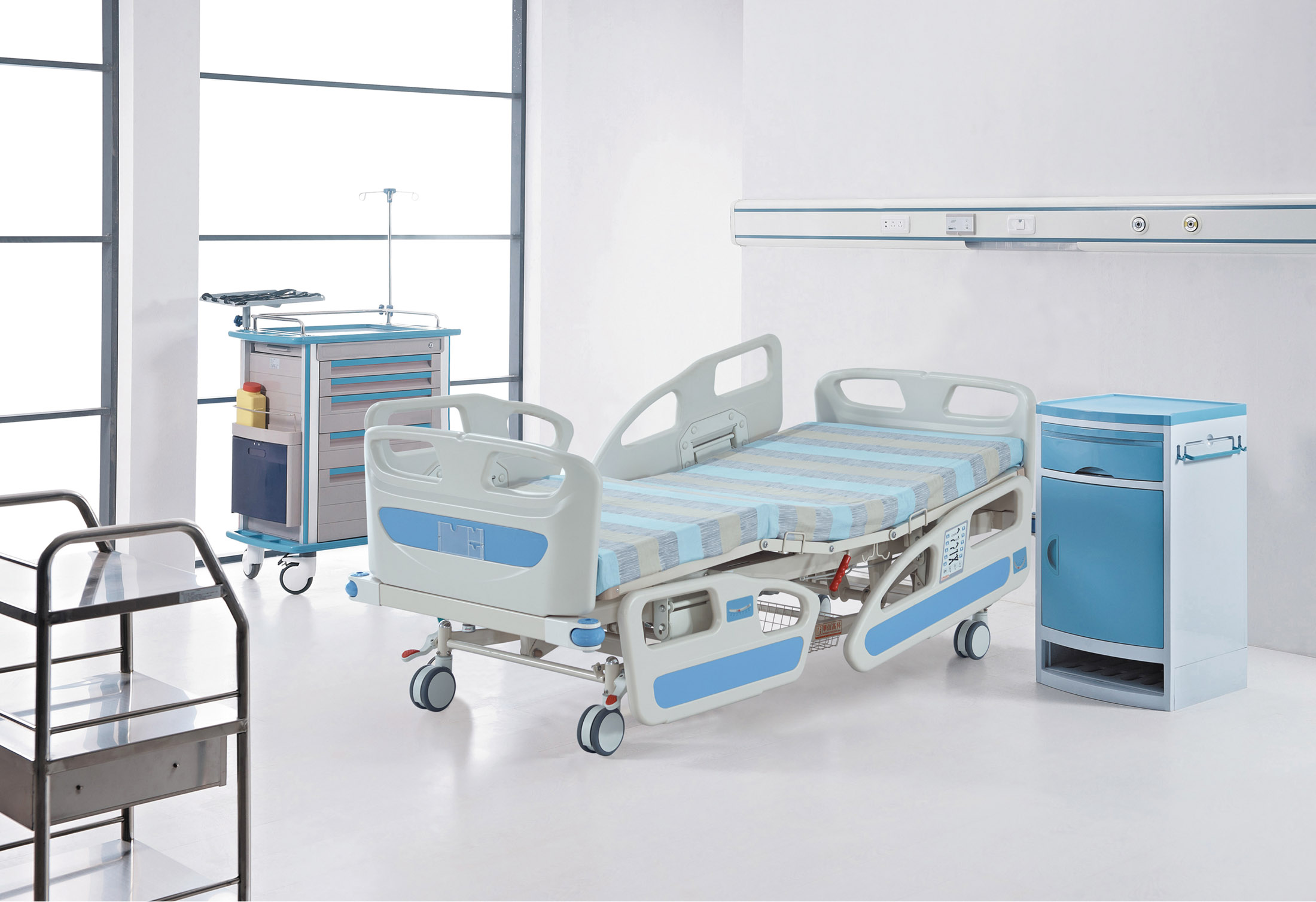 umano home medical low bed hospital height